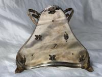 Antique Victorian Silver Plate Egyptian Sphinx Glass Epergne Centrepiece Stand (9 of 12)