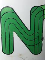 Large 20th Century Original Double Sided National Farmers Union Mutual Enamel Sign (15 of 34)