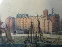 Early Victorian 19th Century Maritime Watercolour Liverpool Mersey Ships St George's Basin T Hargreaves (23 of 35)