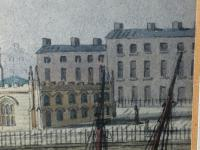 Early Victorian 19th Century Maritime Watercolour Liverpool Mersey Ships St George's Basin T Hargreaves (28 of 35)