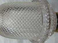 Pair RAre Victorian Clarke's Cricklite Gilt Bronze Cut Glass Domed Shades Fairy Lamps Candelabra's (6 of 48)