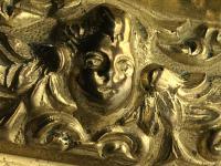 Pair RAre Victorian Clarke's Cricklite Gilt Bronze Cut Glass Domed Shades Fairy Lamps Candelabra's (35 of 48)