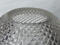 Pair RAre Victorian Clarke's Cricklite Gilt Bronze Cut Glass Domed Shades Fairy Lamps Candelabra's (47 of 48)