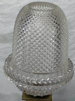Pair RAre Victorian Clarke's Cricklite Gilt Bronze Cut Glass Domed Shades Fairy Lamps Candelabra's (7 of 48)