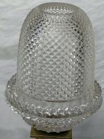 Pair RAre Victorian Clarke's Cricklite Gilt Bronze Cut Glass Domed Shades Fairy Lamps Candelabra's (18 of 48)