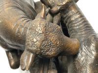 19th Century Victorian Bronze Bulls Sculpture After Paul Edouard Delabrierre (41 of 41)