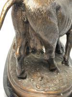 19th Century Victorian Bronze Bulls Sculpture After Paul Edouard Delabrierre (9 of 41)