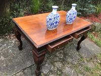 Large Antique 19th Century Regency Style Rosewood Writing Table / Partners Desk (25 of 32)