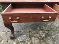 Large Antique 19th Century Regency Style Rosewood Writing Table / Partners Desk (29 of 32)