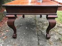 Large Antique 19th Century Regency Style Rosewood Writing Table / Partners Desk (3 of 32)