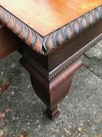 Large Antique 19th Century Regency Style Rosewood Writing Table / Partners Desk (6 of 32)