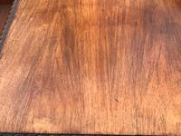 Large Antique 19th Century Regency Style Rosewood Writing Table / Partners Desk (9 of 32)