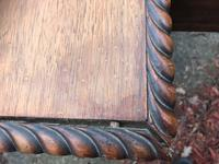 Large Antique 19th Century Regency Style Rosewood Writing Table / Partners Desk (13 of 32)