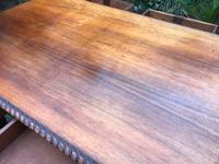 Large Antique 19th Century Regency Style Rosewood Writing Table / Partners Desk (15 of 32)