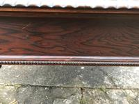 Large Antique 19th Century Regency Style Rosewood Writing Table / Partners Desk (19 of 32)