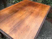 Large Antique 19th Century Regency Style Rosewood Writing Table / Partners Desk (24 of 32)