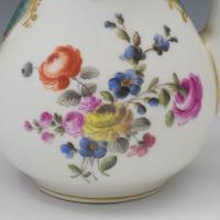 Pretty 19th Century Meissen Porcelain Small Teapot & Cover (7 of 15)