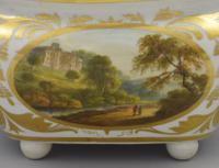 Derby Porcelain Sucrier & Cover Landscapes Berkshire & Wales c.1815 (11 of 21)