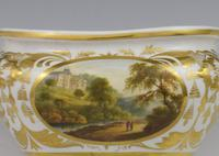 Derby Porcelain Sucrier & Cover Landscapes Berkshire & Wales c.1815 (15 of 21)