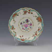 First Period Worcester Porcelain Compagnie Des Indes & Rich Japan Coffee Cup & Saucer (2 of 11)