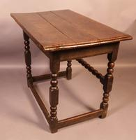 17th Century Side Table in Oak Fantastic Colour (3 of 16)
