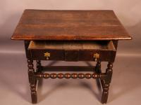 17th Century Side Table in Oak Fantastic Colour (11 of 16)