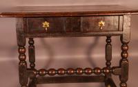 17th Century Side Table in Oak Fantastic Colour (14 of 16)