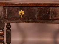17th Century Side Table in Oak Fantastic Colour (15 of 16)