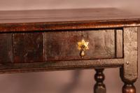17th Century Side Table in Oak Fantastic Colour (16 of 16)