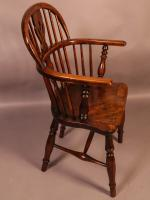 Ash & Elm Windsor Chair c.1850 (2 of 9)
