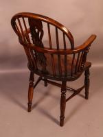 Ash & Elm Windsor Chair c.1850 (3 of 9)