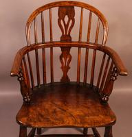 Ash & Elm Windsor Chair c.1850 (4 of 9)