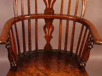 Ash & Elm Windsor Chair c.1850 (5 of 9)