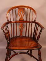 Yew Wood Low Windsor Chair Rockley Workshop (3 of 10)