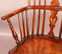 Yew Wood Low Windsor Chair Rockley Workshop (8 of 10)