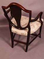 Hepplewhite Period Carver Chair (3 of 8)