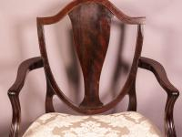 Hepplewhite Period Carver Chair (6 of 8)