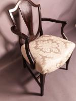 Hepplewhite Period Carver Chair (4 of 8)