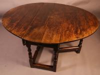 Very Good Large 17th Century Gateleg Dining Table (2 of 13)