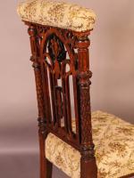 Gothic Prayer Chair c.1860 (3 of 7)