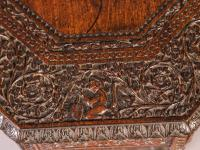 Good Indian Carved Table c.1860 (5 of 11)