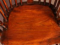 Set of 4 Yew Wood Windsor Chairs Nicholson Rockley (16 of 22)