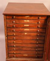 Good Victorian Collectors Cabinet 11 Drawers (2 of 13)