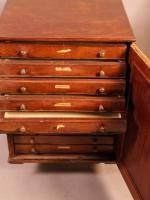 Good Victorian Collectors Cabinet 11 Drawers (7 of 13)
