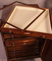 Good Victorian Collectors Cabinet 11 Drawers (8 of 13)