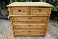 Wow! Fabulous and Big!! Old Pine Chest of Drawers / Sideboard - We Deliver (3 of 10)