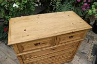 Wow! Fabulous and Big!! Old Pine Chest of Drawers / Sideboard - We Deliver (7 of 10)