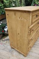 Wow! Fabulous and Big!! Old Pine Chest of Drawers / Sideboard - We Deliver (6 of 10)