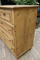 Wow! Fabulous and Big!! Old Pine Chest of Drawers / Sideboard - We Deliver (5 of 10)