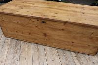 Mega Trunk! Huge! Old Pine Blanket Box / Chest / Table / Storage - We Deliver! (4 of 10)